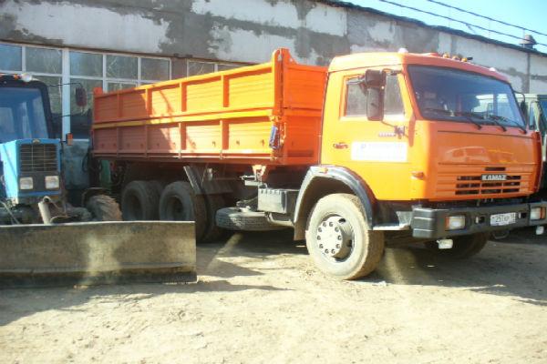 Самосвал КАМАЗ с/х 10 тонн, 1200 руб/ч, от 3 ч.