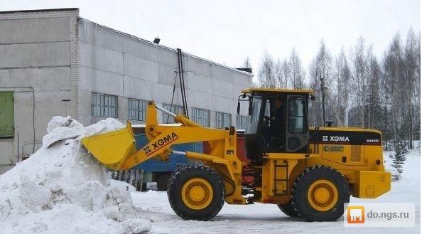 чистка снега в Ижевске