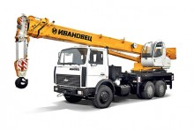 Автокран КАМАЗ, МАЗ 16 тонн, 1200 руб/ч, от 4 ч.