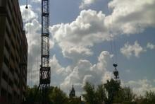 Кран башенный