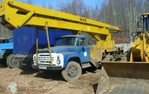Автовышка ЗИЛ, 1200 руб/ч, от 4 ч.